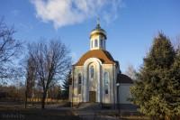 церковь в деревне Берёзки