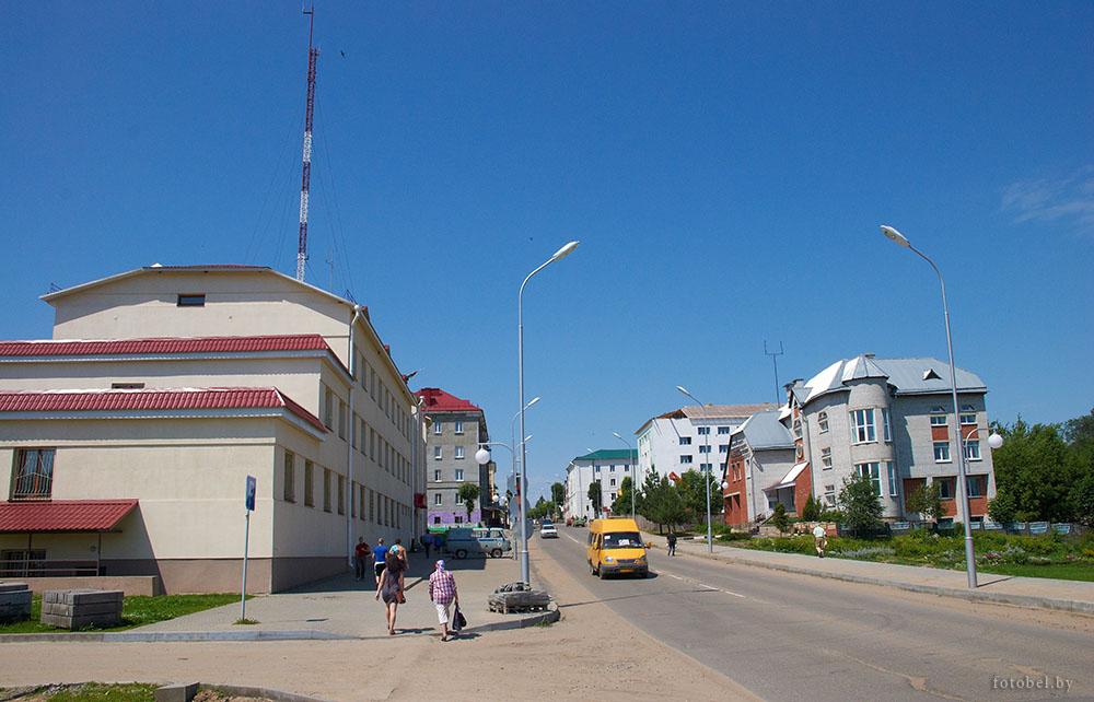 Центр города, марьина горка, беларусь