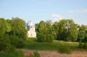 церковь в деревне Горы