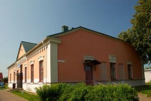 архитектура посёлка Мир
