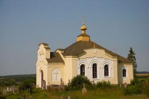 церковь в поселке Мир