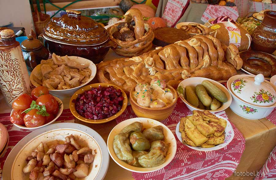Белорусское национальное блюдо и