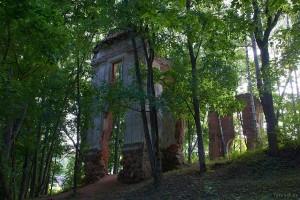 Логойск дворец Тышкевичей