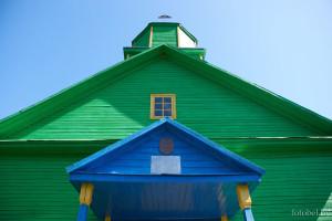 церковь в деревне Нивники