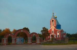 церковь в Октябрьском
