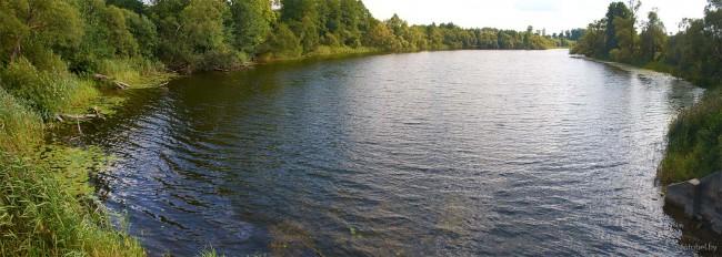Озеро Островки