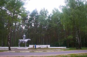 мемориал у деревни Горня