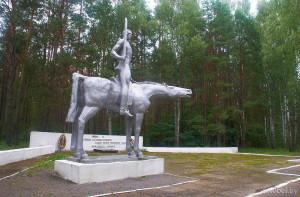 памятник у деревни Горня