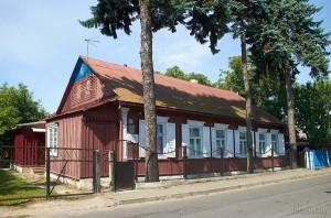 Якуб Колас в Пинске