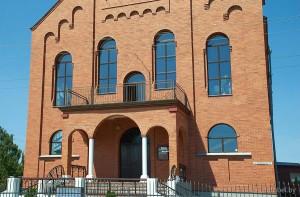 Пинск евангельский храм