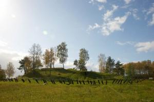 Мемориал в деревне Гомель