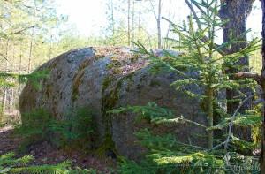 Камень в Кудаево