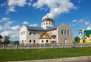 Красная Слобода новый храм