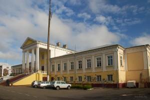 Воложин дворец Тышкевичей