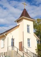 протестантский храм в Воложине