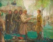 Художник Николай Полянков